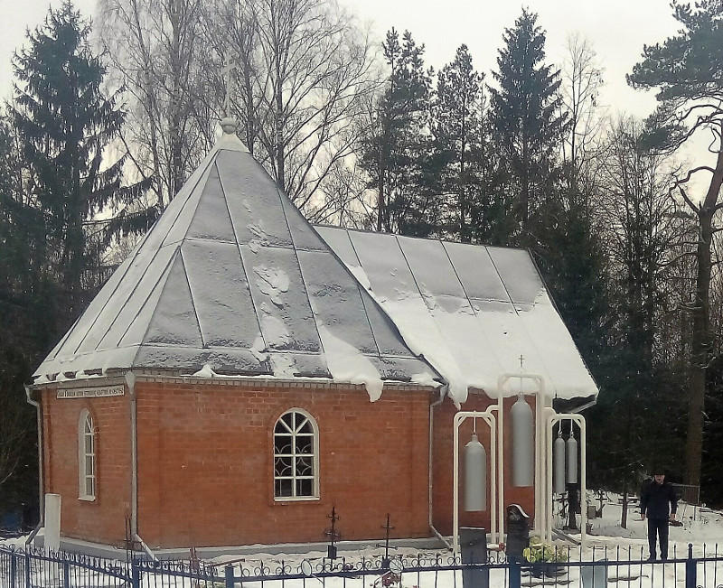 вид храма-часовни