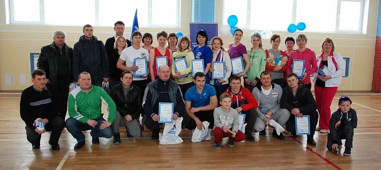 победители и участники соревнований, отмеченные призами в различных номинациях соревнований.