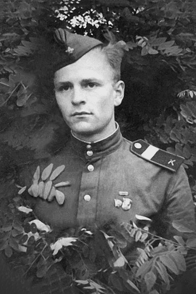 1949 год Ф.Н. Ковалев на службе в советской армии