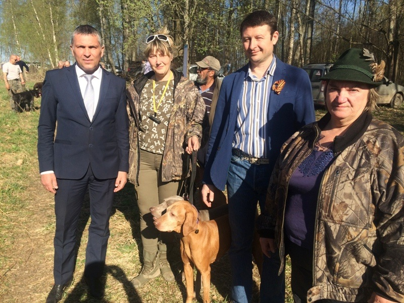 Руководство района и представитель регионального отделения партии Единая Россия
