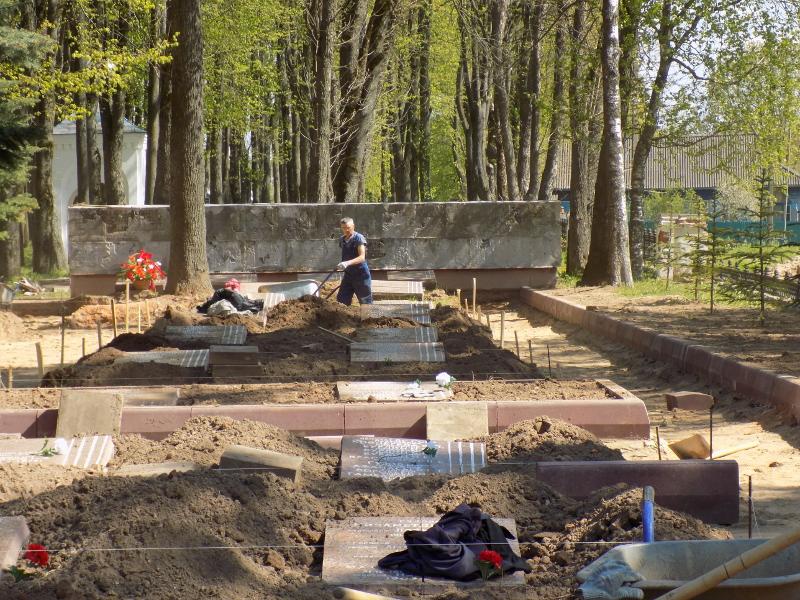 реконструкция воинского захоронения