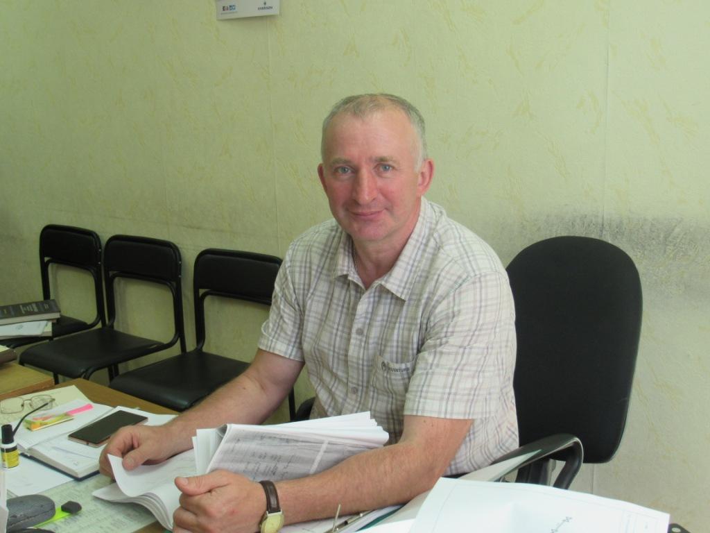 Михаил Саветников начальник котлотурбинного цеха