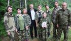 Вторая Вахта Памяти в Хиславичском районе