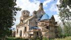 Уникальный храм возрождают в Хиславичском районе