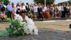 """У """"Стелы посвящений"""" почтили память освободителей села Карманово Гагаринского района"""