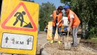 Горячая пора дорожных работ продолжается в Хиславичах